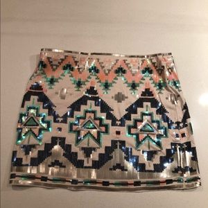 New With Tags Express festival miniskirt